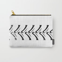 Tractor Tread Grunge Carry-All Pouch