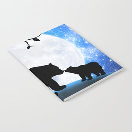 Moon and bears Notebook