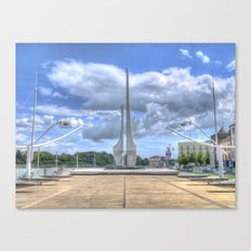 Millennium Plaza, Waterford City Canvas Print