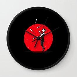 Juggling Juggle Artist Juggler Wall Clock