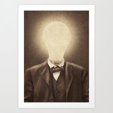 The Idea Man  Art Print