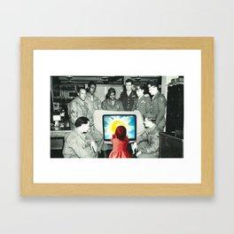 Blind leading the blind Framed Art Print