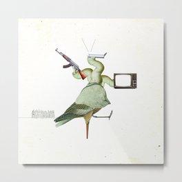 FabCreature · Victor´s Pet Metal Print