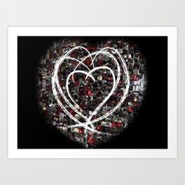 lovex4 Art Print