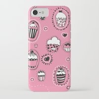 cupcakes iPhone & iPod Cases featuring Cupcakes! by Duru Eksioglu