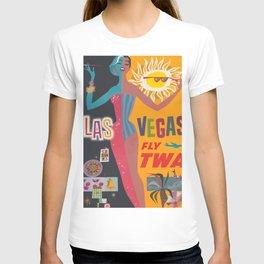 Vintage Las Vegas Poster T-shirt