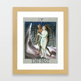 TAROT CARDS. THE PAST Framed Art Print