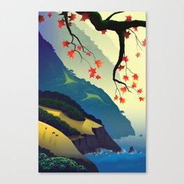 Water Way (left) Canvas Print