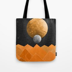 The Orange Planet Tote Bag