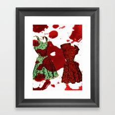Susie homemaker  Framed Art Print