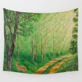 Lonely Time Wall Tapestry