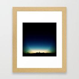 Bell tower. Framed Art Print