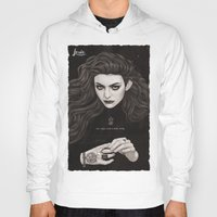 lorde Hoodies featuring The Fire's Found A Home In Me by Helen Green