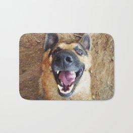 Dog Smile Bath Mat