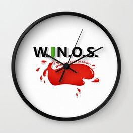 W.I.N.O.S. Wall Clock