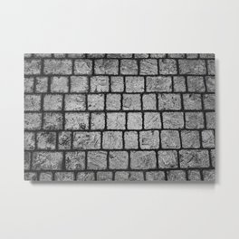 Cobble Path Metal Print