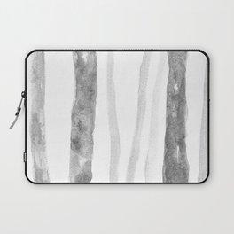 Grey birch trees Laptop Sleeve