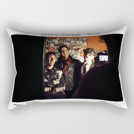 Birds in the Boneyard, Print 17: Backstage Pass Rectangular Pillow