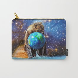 Give Planet Earth A Bear Hug! Carry-All Pouch