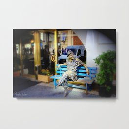 Charlie Footless Metal Print