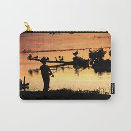 Little Boy Fishing Carry-All Pouch