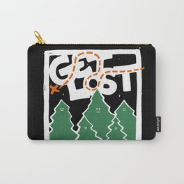 GET LOST Carry-All Pouch
