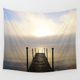 Into the Light: Sunrise, First Full Day of Fall Wall Tapestry
