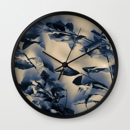 Bay leaves Wall Clock