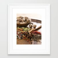 spice Framed Art Prints featuring Spice by Candace N'Diaye