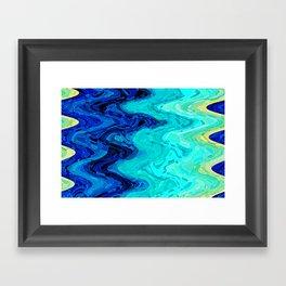 OCEAN MOOD Framed Art Print