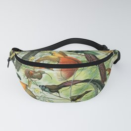 Birds of Paradise poster Fanny Pack