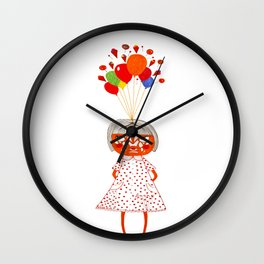 my dreams exploded Wall Clock