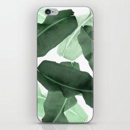 Green Banana Leaf iPhone Skin
