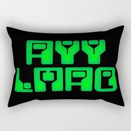 ayy lmao Rectangular Pillow