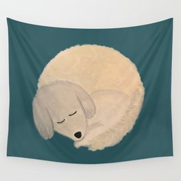 Dog Donut Wall Tapestry