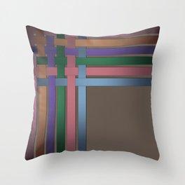 Braiding ribbons 3 Throw Pillow