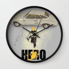 Real Hero Wall Clock