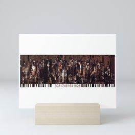 Barcode 13. Mini Art Print