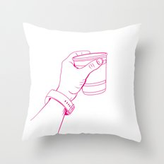 The Party Cup - v1 Throw Pillow