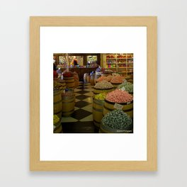Candy Paradise Framed Art Print