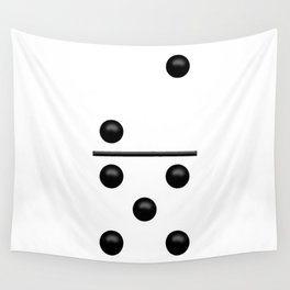 White Domino / Domino Blanco Wall Tapestry