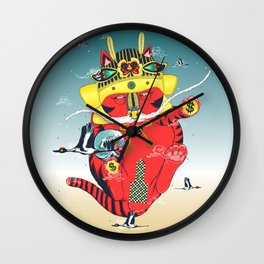 CATCRANEFISH Wall Clock