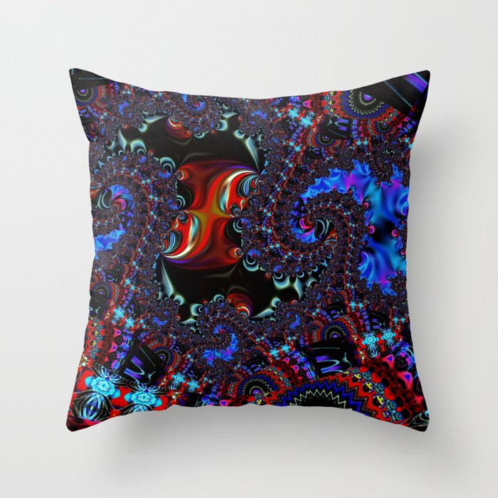 WarpRift A Throw Pillow
