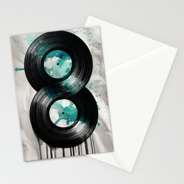 infinity vinyl Stationery Cards