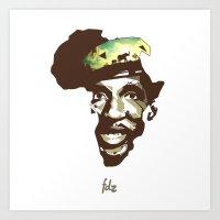 Sankarafrica Art Print