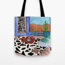 Mid Century Desert Home Tote Bag