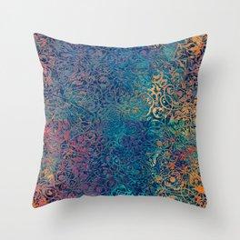 magic mandala 45 #magic #mandala #decor Throw Pillow