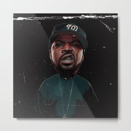 rapper thug Metal Print
