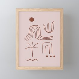 FEZ Framed Mini Art Print