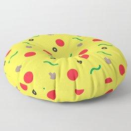 Postmodern Pizza Slice Floor Pillow